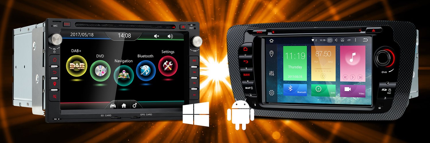 WinCE Car Stereo | WinCE vs Android: 6 Points | XTRONS