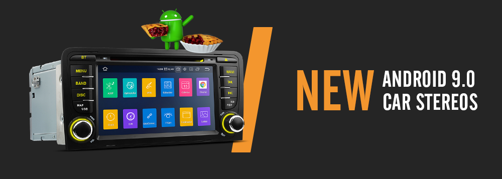Android 9.0 pie car stereos