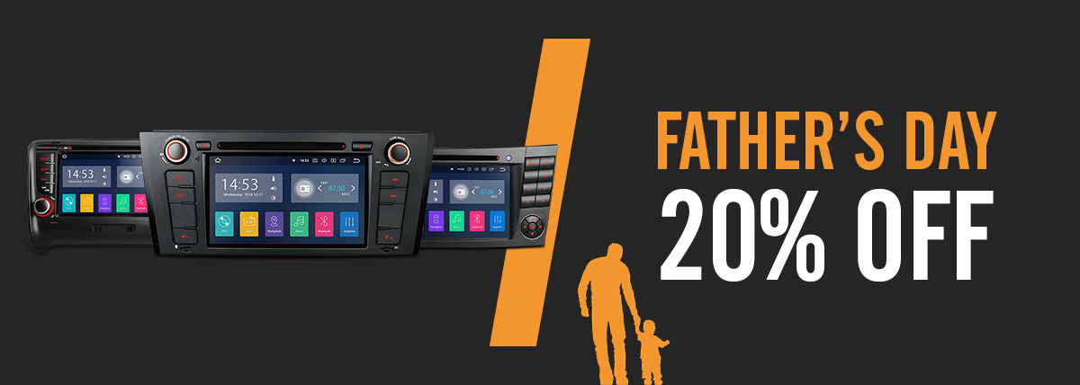 Fathers day discount on car stereos