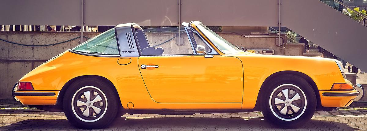 Porsche double din car stereos