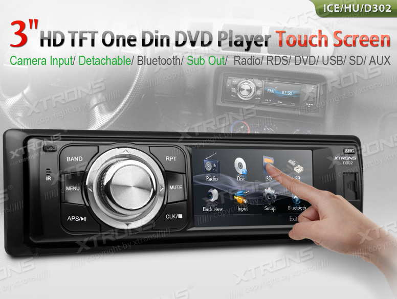 Single Din Touch Screen Radio With Bluetooth - Best Screen 2018