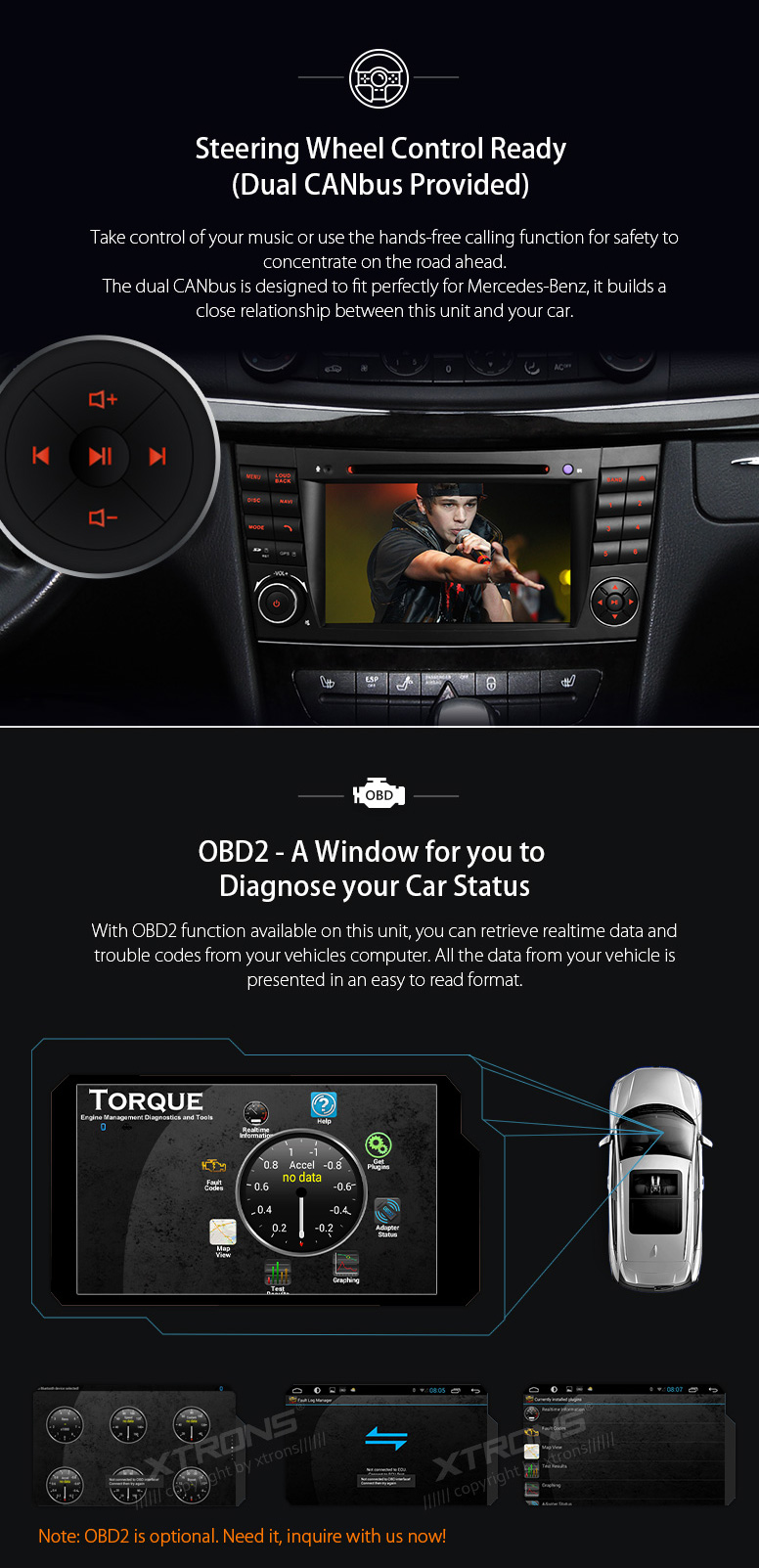 Quad Core Android 71 Radio Gps Dvd For Mercedes Benz E350 E320 E500 2 0 Audio Wiring Harness 3 X Iso 1 Usb Cable Antenna Canbus Box Rca Cables Microphone Camera User Manual