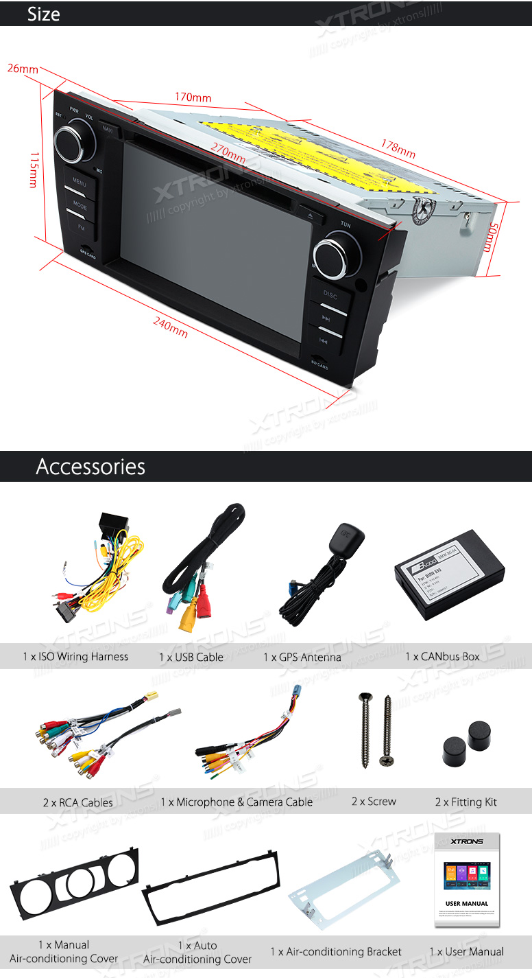Android 80 Car Stereo 7 Gps Navigation Radio Dvd Bt 50 For Bmw Bp Wiring Harness If The Factory Plug Doesnt Have 8 Speaker Wires This Unit Can Not Fit With Your 9 Please Remove Plastic Frame Before Installing Head