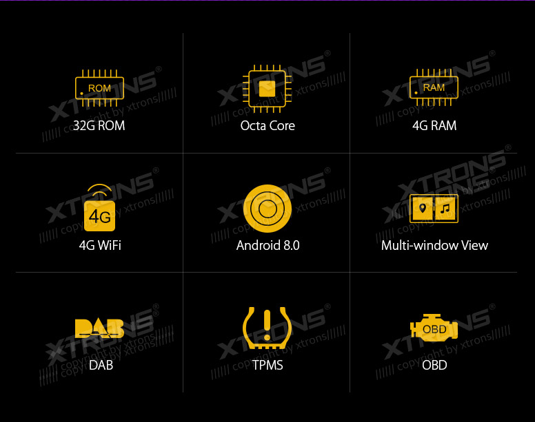 Android 80 Octa Core 9 Multimedia Gps Navi Radio No Dvd 4gb Ram