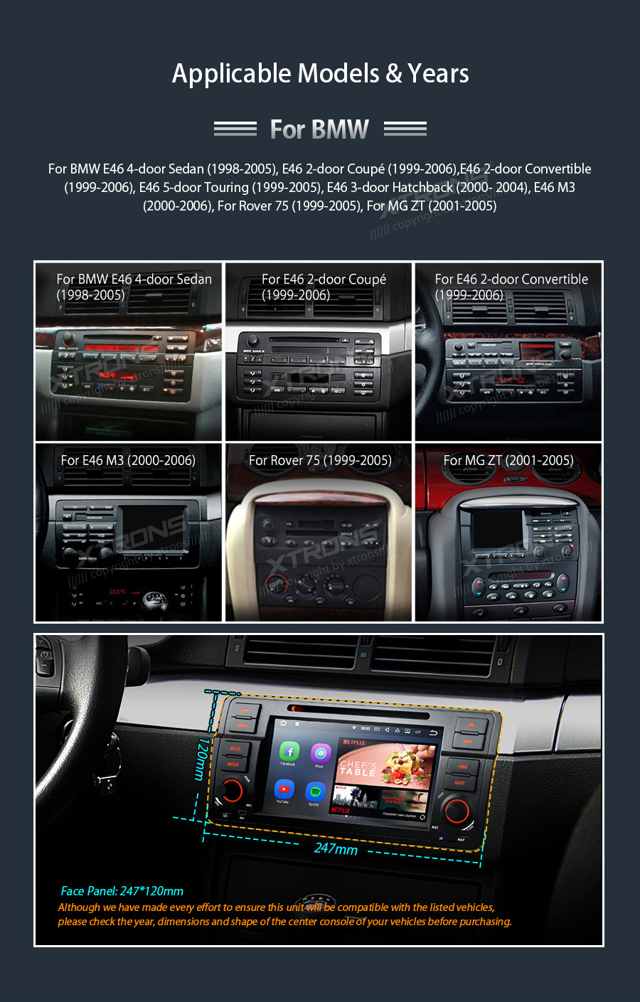 7 Android 71 Car Dvd Gps Player For Bmw E46 M3 Radio Wifi Stereo Speaker Wiring You Will Need To Modify Wires This Unit Work With Speakers Directly And Your Dsp Or Digital Sound System Not