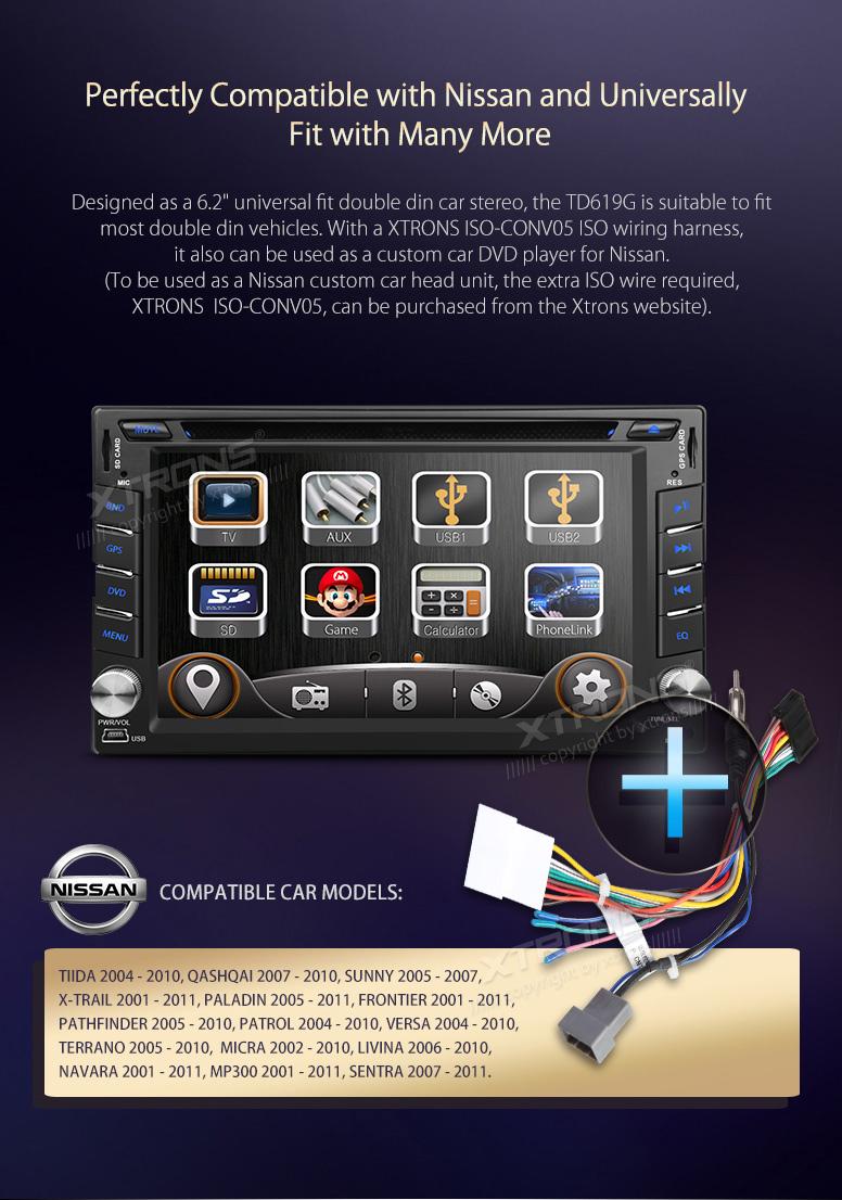 Details zu XTRONS Autoradio CD DVD 6.2