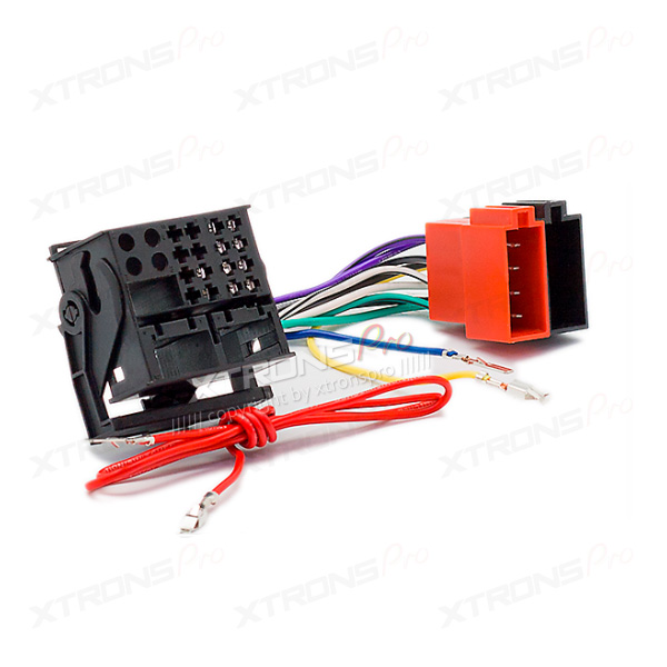 vw wiring harness vw image wiring diagram wiring harness iso adaptor lead for volkswagen xtrons on vw wiring harness