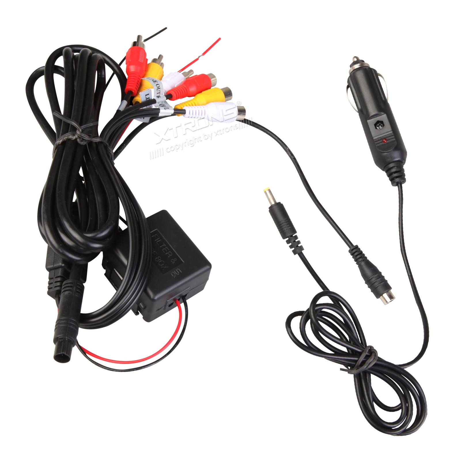 Cl004 In Car Cigarette Charger For Headrest Dvd Player Twin Screen Wiring Diagram Prevnext