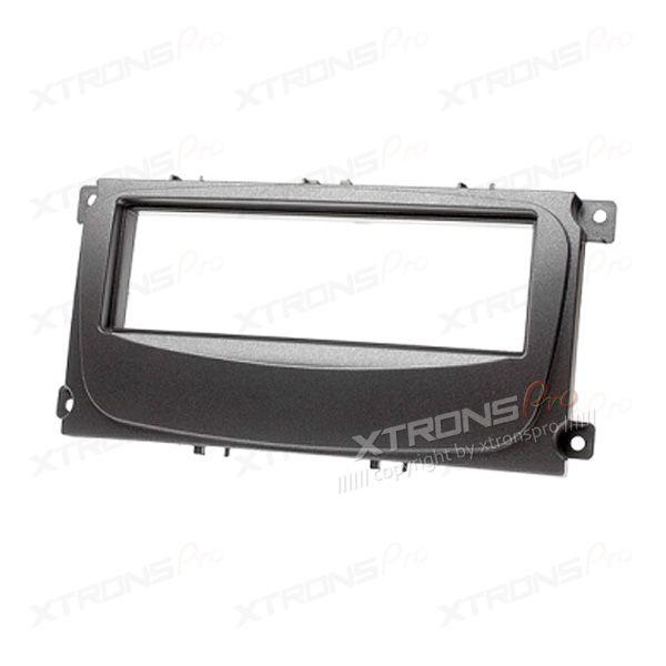 Single Din FORD Focus Radio Black Fascia Panel Adaptor for Car Stereo Head Units