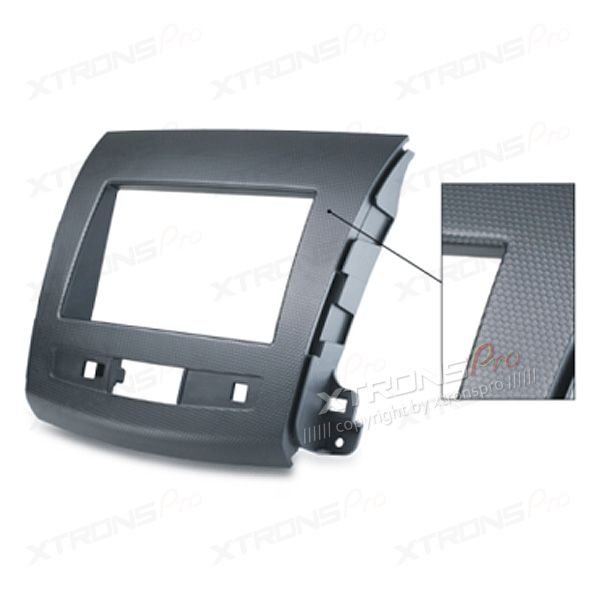 Dash Panel for Mitsubishi, Citroen, Peugeot Radio Stereo Double Din Fascia Panel Kit