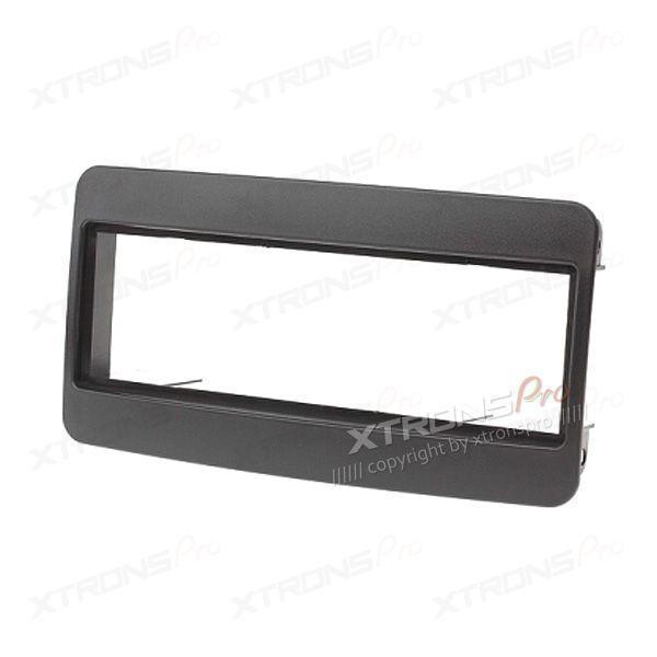 Black Single Din Radio Fascia for TOYOTA  Stereo Facia Panel Trim Install Kit Plate