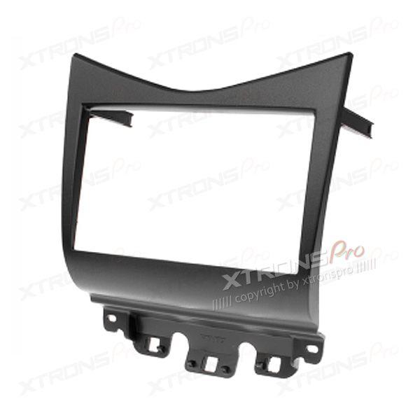 Black Double Din Stereo Fascia Fitting Kit for HONDA Accord