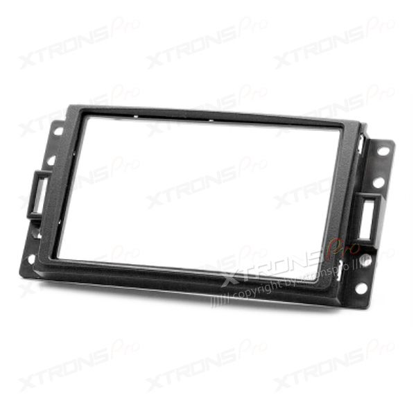 Hummer, Chevrolet, Buick, Pontiac, Saturn, SAAB Double Din Facia Panel Adaptor For Car Stereos / Radios