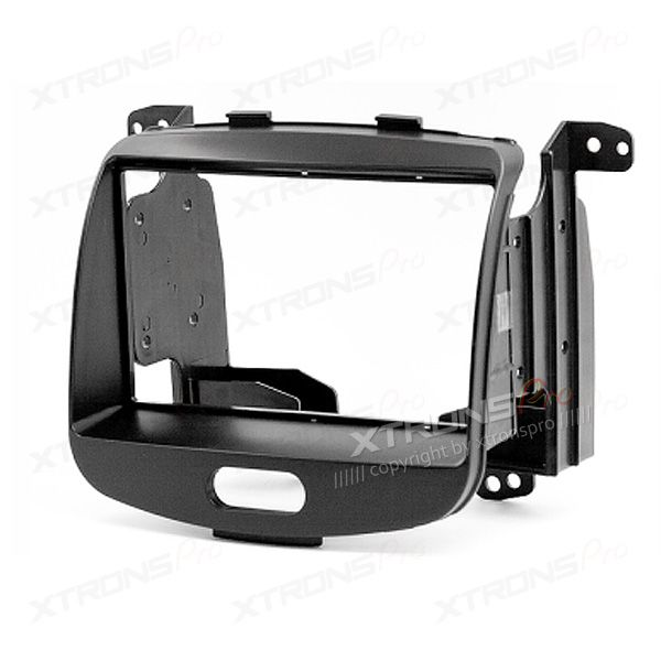 Double Din Car Stereo Fascia Surround Panel for HYUNDAI i-10 2008 Onwards