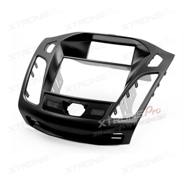 """Double Din In-dash Car Audio Installation Kit Fascia Plate with 3.5"""" Display for FORD Focus III, C-Max 2011+"""
