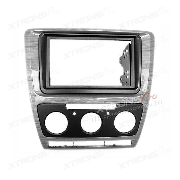 Car CD Stereo Single Din Fascia Fitting Surround Panel for TOYOTA Yaris Vitz