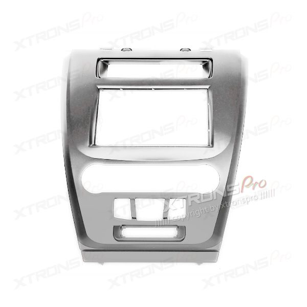 FORD Fusion Car Stereo Double Din Silver Fascia Plate Adaptor Panel Surround