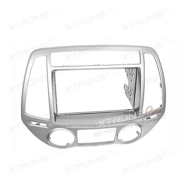 Dash Panel for HYUNDAI i-20 Radio Stereo Double Din Fascia Panel Kit (Auto Air-Conditioning)
