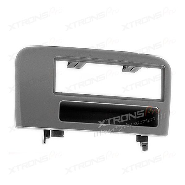 Single Din Car Stereo Fascia Surround Panel with Pocket for VOLVO