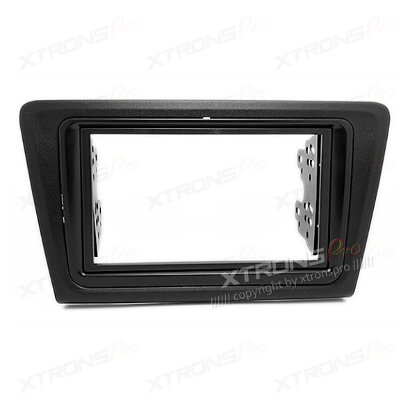 Double Din Car Stereo Radio Fascia Panel Adapter Fitting Kit for SKODA Rapid 2013 Onwards.