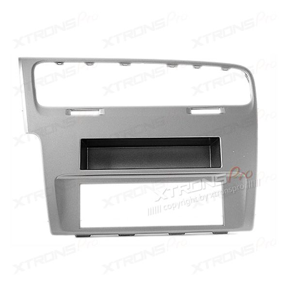 Single Din Car Stereo Fascia Surround Panel Fitting Kit for Volkswagen Golf 7 2012 onwards.