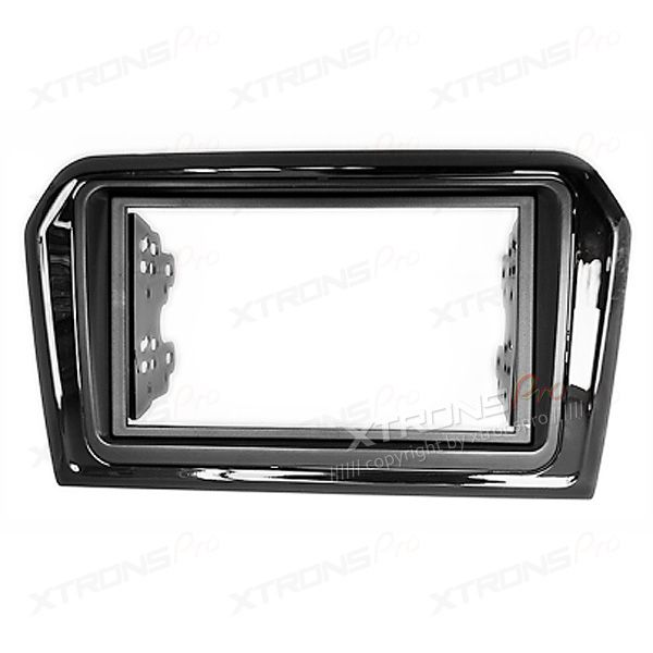 Double Din Car Stereo Fascia Surround Panel Fitting Kit for Volkswagen, Jetta 2013 onwards