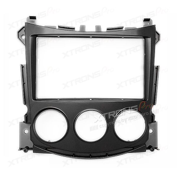 NISSAN 370Z 2009 - 2012 CD Radio Facia Adaptor Fascia Panel Trim for Double Din Stereo.