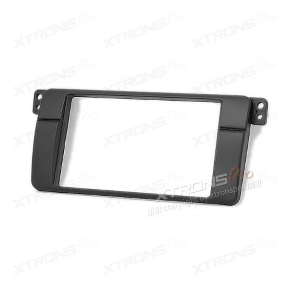 BMW E46 3 Series Double Din Fascia Panel Fascia Surround Adaptor Plate.