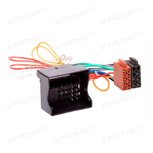 ISO Radio Harness Cable for MERCEDES-BENZ, OPEL Wiring Adapter