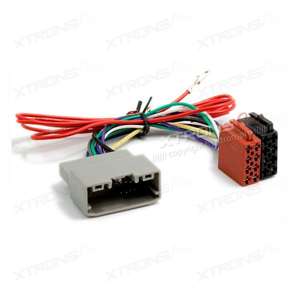 This adapter allows you to connect a aftermarket car radio to any vehicle with ISO connections.It is easily converted to the ISO connector of the vehicle. The plug and play