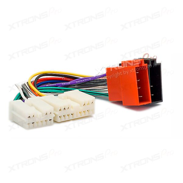 Car Radio Stereo ISO Wiring Loom Adapter Cable Connector for VOLVO