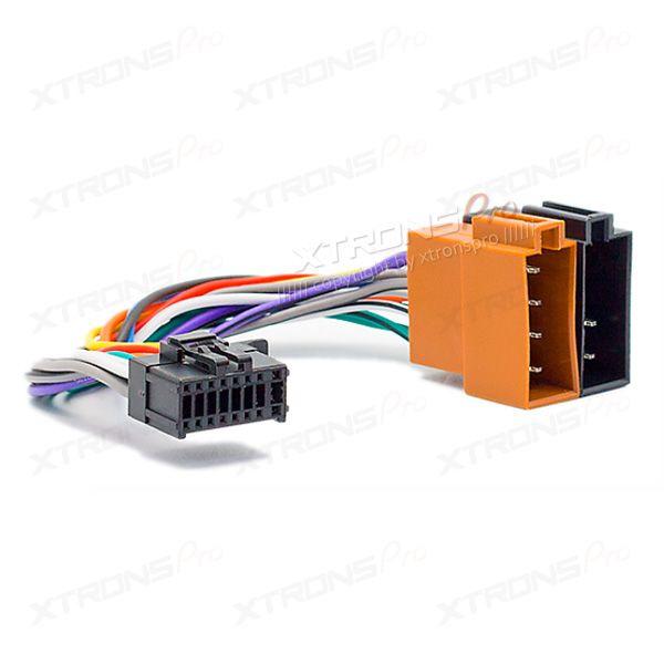 jvc car stereo wiring harness radio adapter iso radio wiring harness cable for sony jvc xtrons  iso radio wiring harness cable for sony