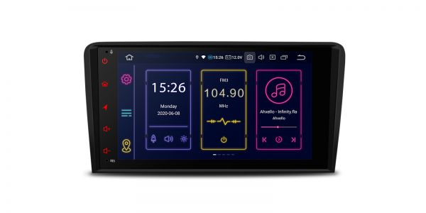 AUDI | A3/S3/RS3 | Android 10 | Octa Core | 4GB RAM & 64GB ROM | IB80A3ALN
