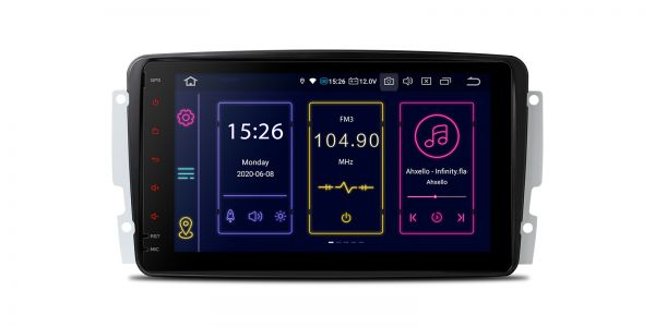 Mercedes-Benz | Various | Android 10 | Octa Core | 4GB RAM & 64GB ROM | IB80M203ELN
