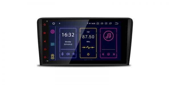 Audi | A3 / S3 | 8-inch | Android 9.0 | Octa Core | 4GB RAM & 64GB ROM | IB89A3APLS