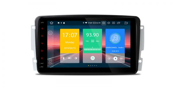 Mercedes-Benz   Various   Android 9.0   Quad Core   2GB RAM & 16GB ROM   IN89M203EPL