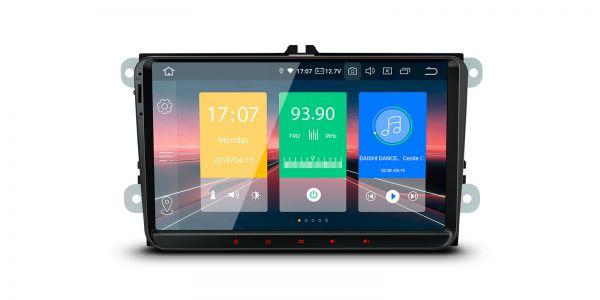 VW / Seat / Skoda | Various | Android 9.0 | Quad Core | 2GB RAM & 16GB ROM | IN99MTVPL
