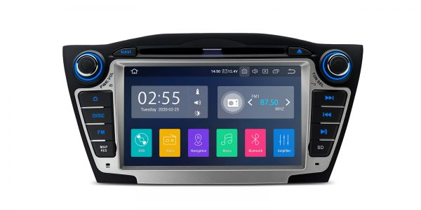 Hyundai | Various | Android 10 | Quad Core | 2GB RAM & 16GB ROM | PA7035H