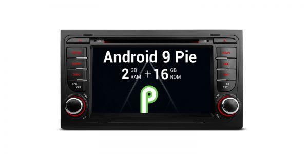 AUDI / Seat | Various | Android 9.0 | Quad Core | 2GB RAM & 16GB ROM | PA79AA4IP