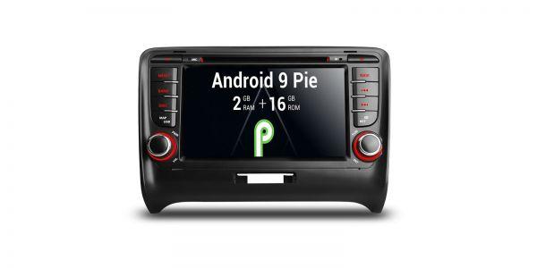 Audi | TT | Android 9.0 | Quad Core | 2GB RAM & 16GB ROM | PA79ATTIP