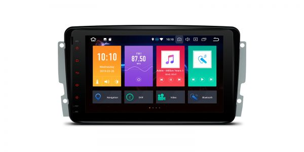 Mercedes-Benz | Various | Android 9.0 | Octa Core | 4GB RAM & 64GB ROM | PBX89M203L
