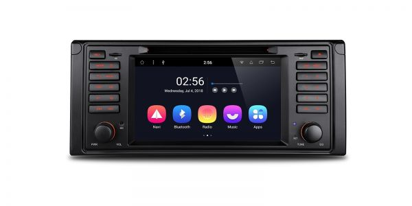 """Android 8.1 Octa Core 7"""" Smart Multimedia Player Custom Fit for BMW"""
