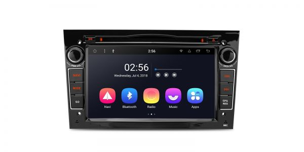 "7"" Android 8.1 Octa-Core Car Stereo smart multimedia Player Costom fit for OPEL/ Vauxhall /Holden"