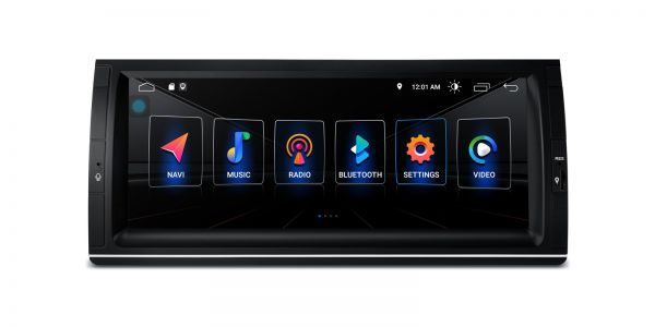 BMW | X5 E53 | Android 10 | Quad Core | 2GB RAM & 32GB ROM | PSA1053BL