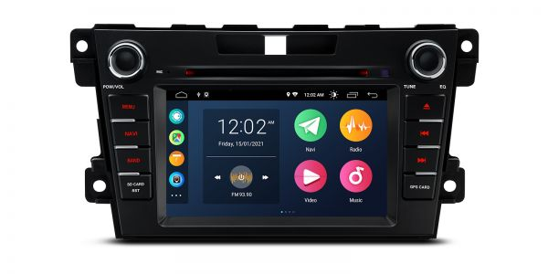 Mazda | CX-7  | Android 10 | Quad Core | 2GB RAM & 32GB ROM | PSA70CX7M