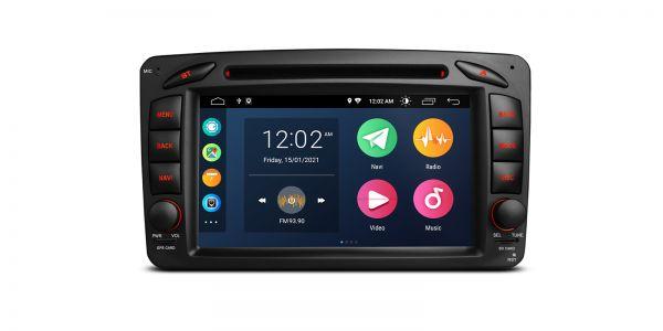 Mercedes  Various   Android 10   Quad Core   2GB RAM & 32GB ROM   PSA70M203