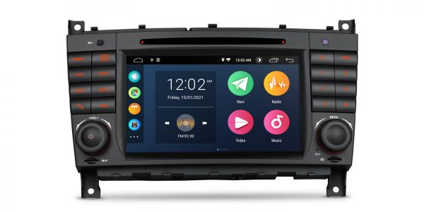 Mercedes| Various | Android 10 | Quad Core | 2GB RAM & 32GB ROM | PSA70M209