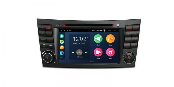 Mercedes-Benz | Various | Android 10 | Quad Core | 2GB RAM & 16GB ROM | PSA70M211