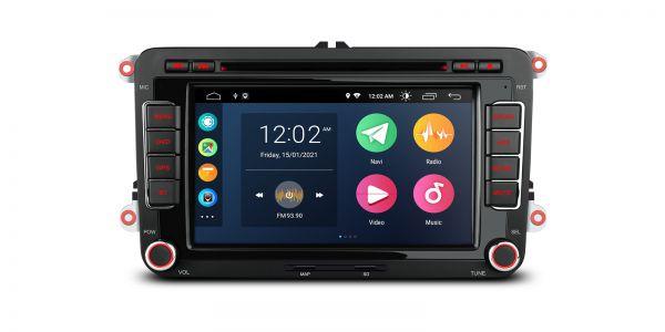 VW / SEAT / SKODA | Various | Android 10 | Quad Core | 2GB RAM & 32GB ROM | PSA70MTV