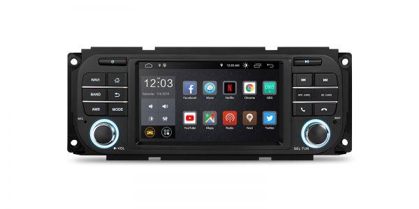 Chrysler / Jeep / Dodge   Various   Android 10   Quad Core   2GB RAM & 16GB ROM   PSD50WRJL